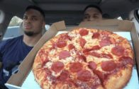 FOODporn.pl Eating Marcos Pizza @hodgetwins
