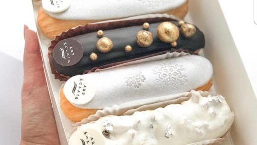 Eclair by  . I am fan of their eclairs!!! Its so glamour and original! They are the best for me                       ...