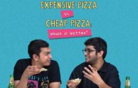 FOODporn.pl Expensive Pizza Vs Cheap Pizza: Which Is Better? | Ft. Akshay & Kanishk | Ok Tested