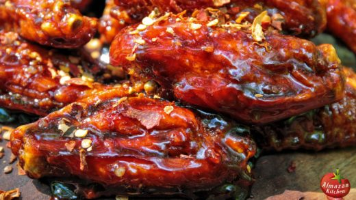FOREST CARAMELIZED CHICKEN WINGS