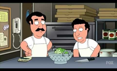 """Family Guy """"Every Pizza Place Salad"""""""