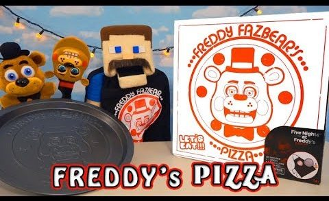Five Nights at Freddy's Fazbear's Pizza Pizzeria Simulator Gift Box Toy Fnaf Unboxing