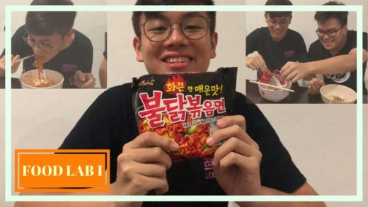 [Food Lab 1] Samyang Korean Spicy Noodle! Someone cried just because of eating this?!