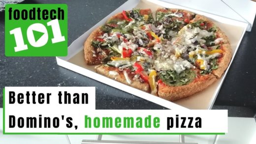 FoodTech 101 Homemade Pizza from scratch