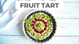 Fresh Fruit Tart With A Gluten-Free Crust | Healthy Grocery Girl Cooking Show