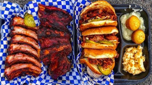 Glendale pop up  serving some of the best BBQ Ribs I've had!!!   ...