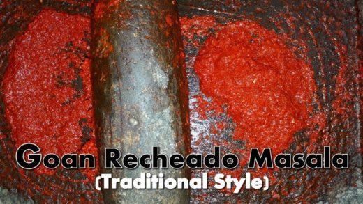 Goan Recheado Masala | How to make Recheado Masala | Goan Cuisine | Cooking Addiction.