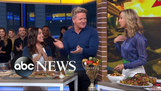 Gordon Ramsay shares healthy recipes from his new book on 'GMA'