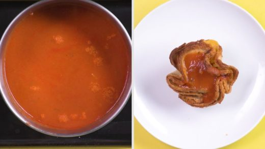 Grilled Cheese Tomato Soup Cups
