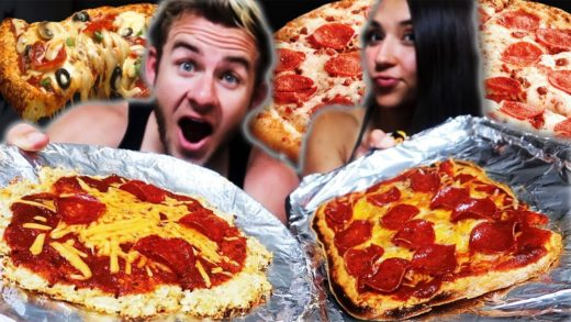 HEALTHY PIZZA COUPLES MUKBANG (HUGE CANDY CAREPACKAGE)