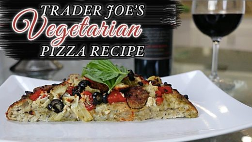 HEALTHY Vegetarian  PIZZA RECIPE - 5 MINUTE MEAL