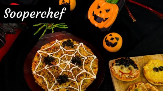 Halloween Pizza Recipes By SooperChef (Halloween Recipes)