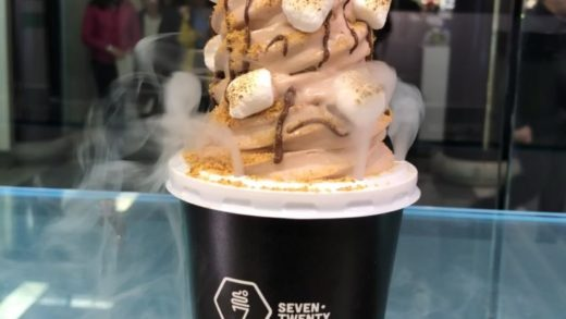 Have you heard about our limited time flavour - Chocolate ice cream with graham crackers, Nutella drizzle and toasted marshmellows ...