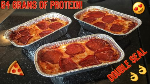 High Protein Bodybuilding Deep Dish Pizza | Healthy Low Carb Recipe