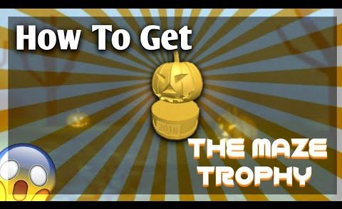 How To Get The Maze Trophy|Work at a Pizza Place