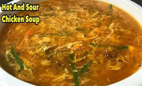How To Make Hot And Sour Chicken Soup By Yasmin's Cooking (Winter Special)