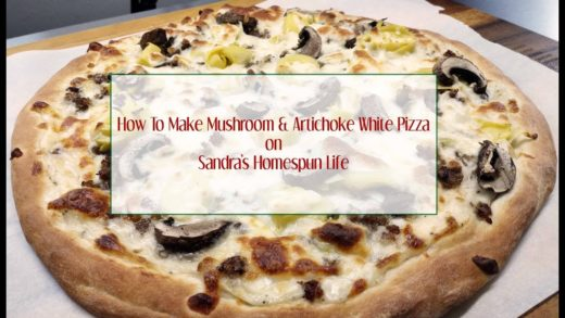 How To Make Mushroom & Artichoke White Pizza