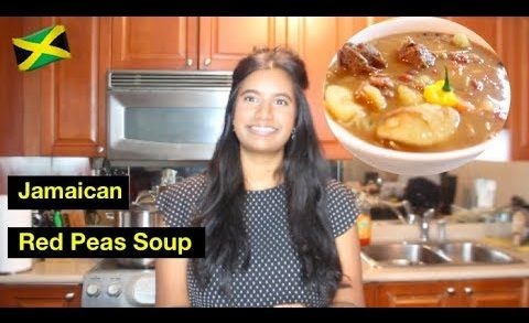 How to Cook: Jamaican Red Peas Soup