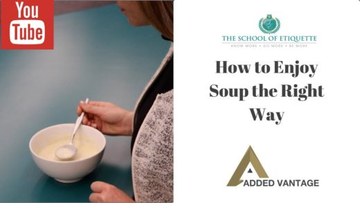 How to Eat Soup the Right Way