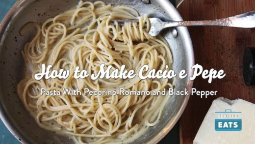 How to Make Cacio e Pepe (Pasta with Cheese and Black Pepper)