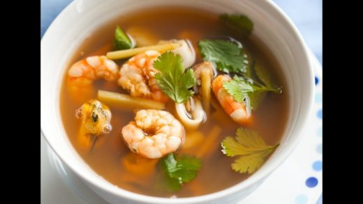 How to Make Tom Yum Soup - Thai Shrimp Soup Tom Yum Recipe - Tom Yum Soup - Prawn Tom Yum -