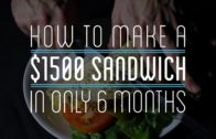 FOODporn.pl How to Make a $1500 Sandwich in Only 6 Months
