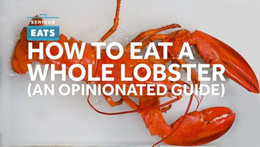 How to Shell and Eat A Whole Lobster