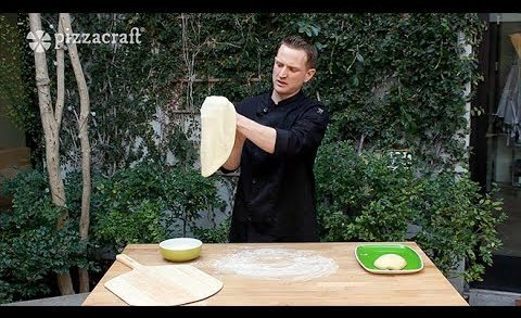 How to Stretch Your Pizza Dough & How To Use a Pizza Peel