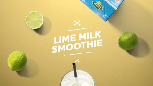 How to make a Lime Milk Smoothie
