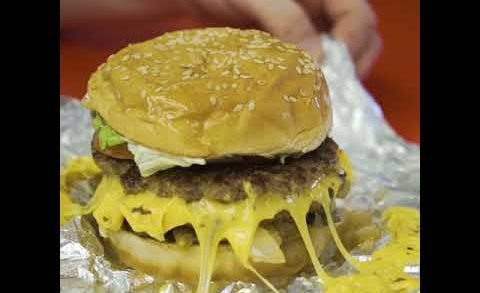How your Five Guys Burger Is REALLY Made | Cosmopolitan UK