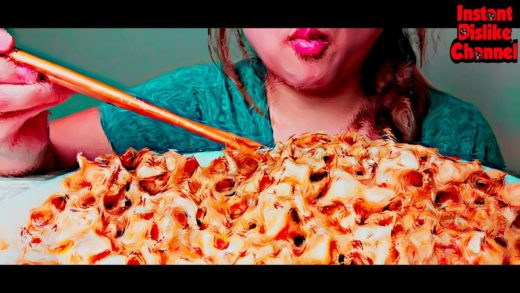 Hypnotic REVERSE ASMR or FOOD PORN #004 Spicy Cajun Butter Noodles 먹방 Eating Sounds