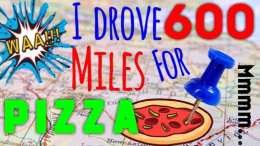 I Drove 600 Miles For A Pizza (Not Clickbait..... Seriously)