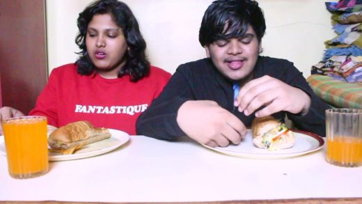 Indian Eats - ASMR - Subway Special - EPIC ASMR FAIL