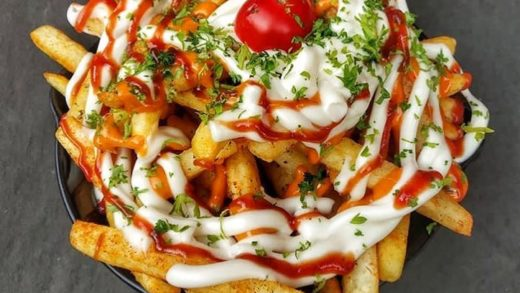 Is it a Fri-Yay today?? Who cares  Tag your Squad! . Super Cheesy Fries from Hut-K Cafe, Krishna Nagar, Delhi Pic by   . .                       ...