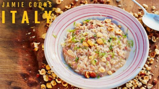 Jamie Cooks Italy | Sausage Risotto, Bacon & Onion Dumplings and Ham & Pea Pasta