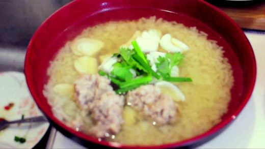 Jamie & Uncle Ben's Food Tube Star Entry - Recipe for Teochew Rice Soup