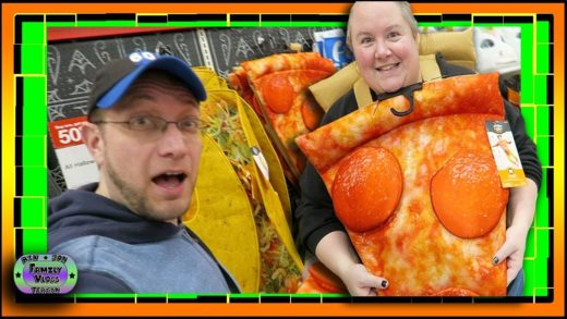 Jon Is So Hungry, He Thinks Bin is a Pizza!! Target Toy Shopping