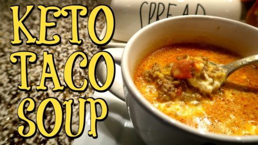 KETO TACO SOUP | SUPER EASY 5 INGREDIENTS | Cook Clean And Repeat