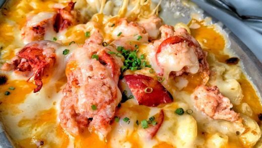 LOBSTER MAC & CHEESE from   made with their signature 3-cheese macaroni & tender pieces of lobster!  Their Irvine location is newly remodeled- WATCH INSTASTORY for full meal & ambiance!   ...