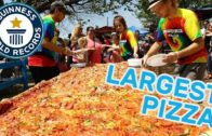 FOODporn.pl Largest commercially available pizza – Guinness World Records