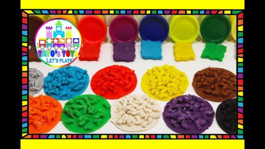 Learn Colors with PLAY-DOH for Kids making PIZZA With Cheese