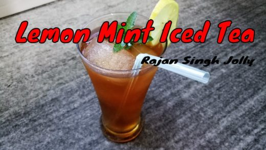 Lemon & Mint Iced Tea Recipe - Lemon Iced Tea Recipe | Sweet Iced Tea Recipe | Summer Drinks