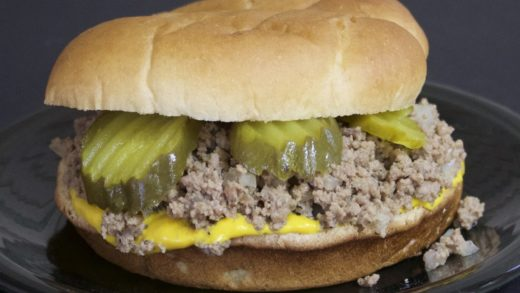 Loose Meat Sandwiches with Michael's Home Cooking