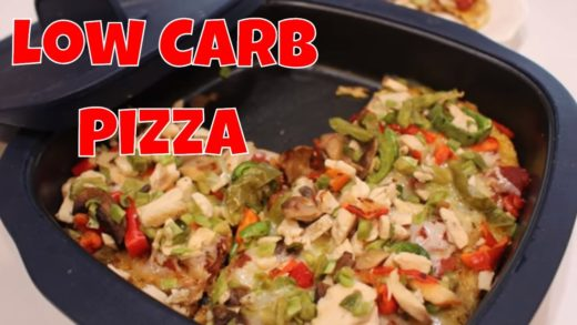 Low Carb Southwest Chicken Pizza With Linda's Pantry