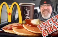 """FOODporn.pl McDonald's Hotcakes & Sausage and McCafé Coffee """"UNCUT & RAW!"""" (YES! it's UNEDITED FOOTAGE!)"""