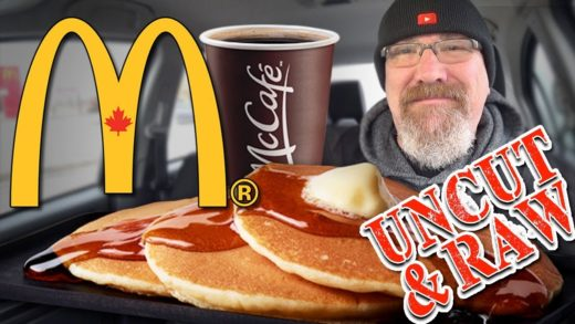 "McDonald's Hotcakes & Sausage and McCafé Coffee ""UNCUT & RAW!"" (YES! it's UNEDITED FOOTAGE!)"