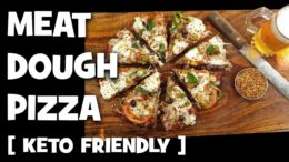 Meat Dough Pizza with the works
