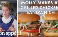 FOODporn.pl Molly Makes a Grilled Chicken Sandwich | From the Test Kitchen | Bon Appétit
