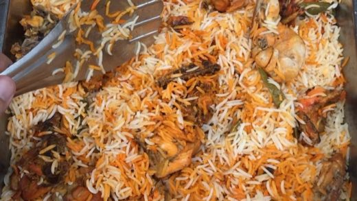 """Never so """"No"""" to biryani on a Sunday afternoon !! Add in a generous side of """"ODI Cricket"""" and I am a happy bunny.  . Follow my food trail on :      . Please seek permission before reposting  .                              ..."""
