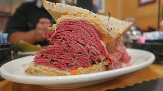 New York City Food Tour:  Finding New York's BEST Deli Sandwich ! (Did Katz Win?)